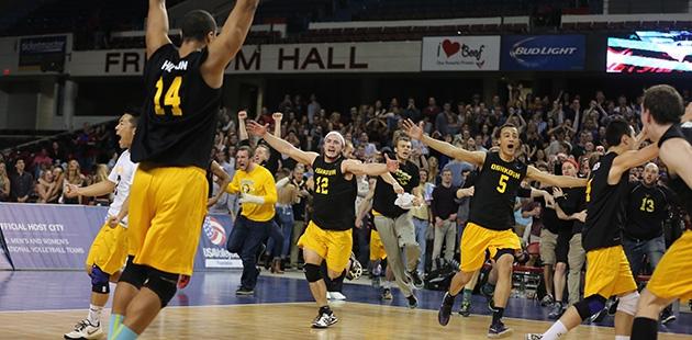 University of Wisconsin-Oshkosh Men's Volleyball - Winner of 10
